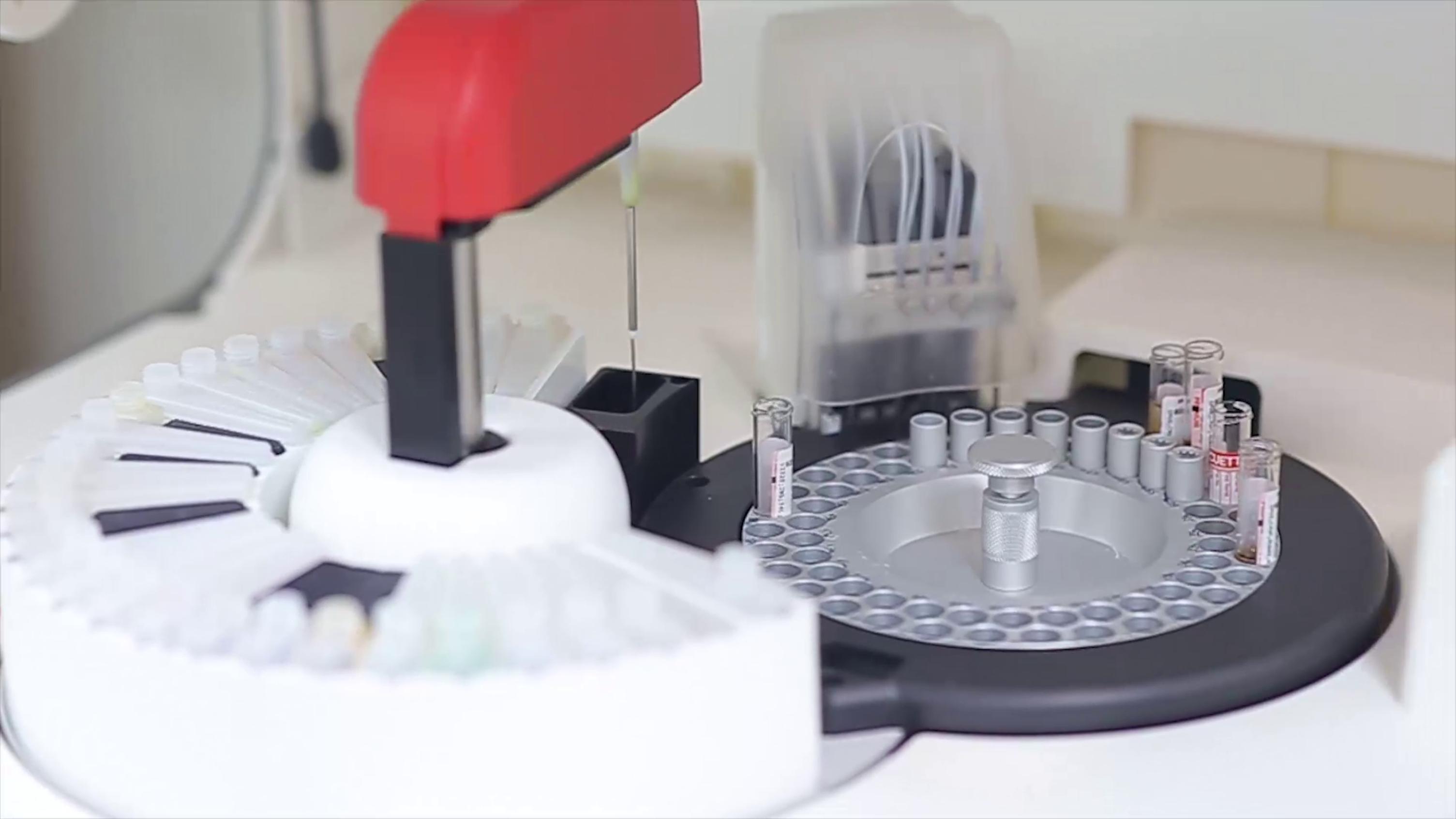 laboratorio exame centro medico equipamento
